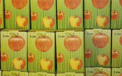 Apfelsaft für Kindergarten und Grundschule